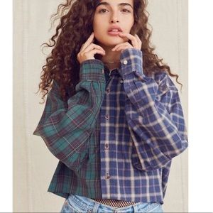Urban Renewal Spliced Crop Flannel